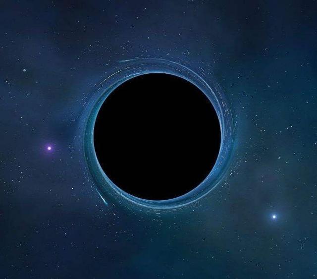 地球变成黑洞只有1纳米图片