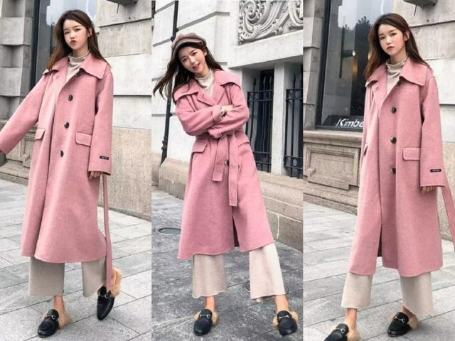 时尚女性网|秋冬还是流行穿大衣,搭配各种裤装,不仅好看还显瘦!