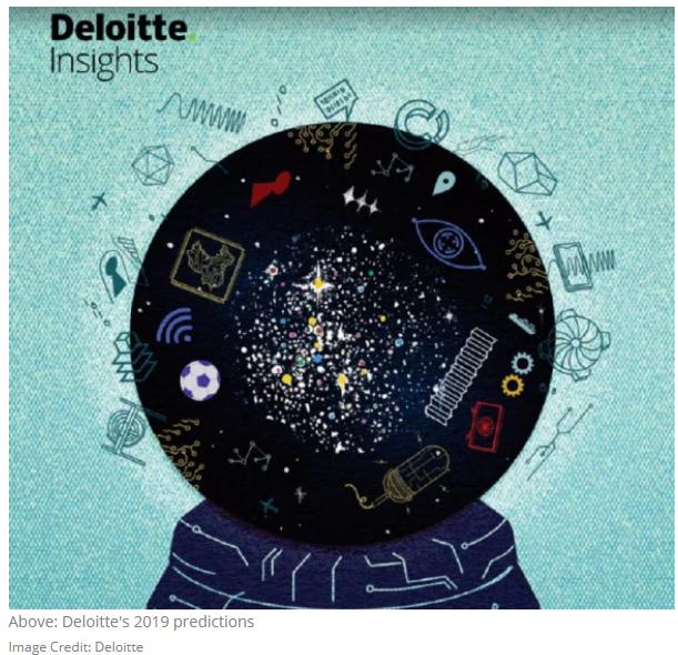 德勤2019九大科技预测:智能音响成增长最快的联网设备 AI将无处不在