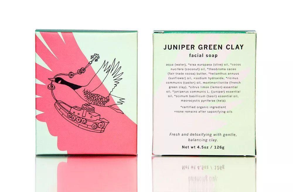 产品 不同于普通的洗护包装 该包装盒设计 采用黑白手绘插画的表现