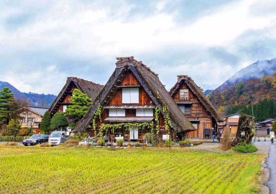日本建筑_独特建筑 浓厚人文 童话雪乡已打包,请各位旅行者在日本白川乡签收