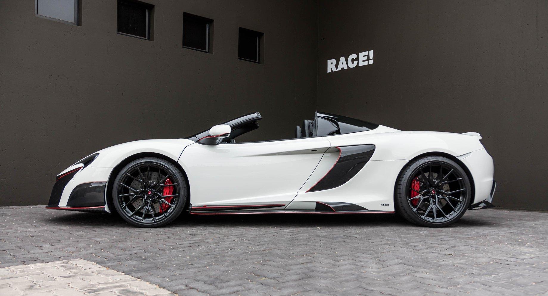 迈凯伦McLaren 650S Spider Sports改装升级合金碳纤