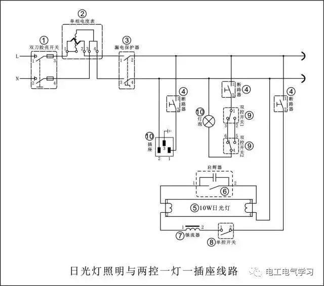 8个电工电路原理图,全懂吗?