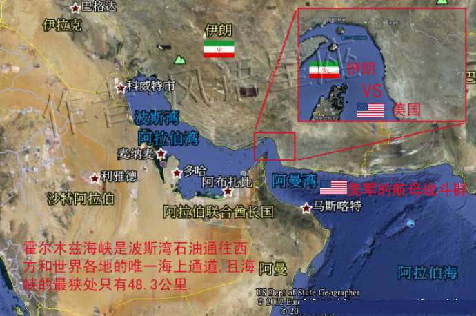 冲突升级!伊朗举行霍尔木兹军演模拟百枚反舰导弹击沉美军航母