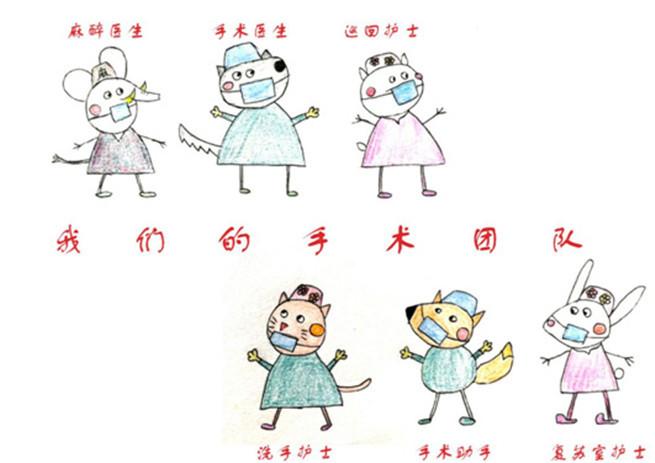 """萌化了 护士手绘漫画讲解""""儿童手术那点事"""""""