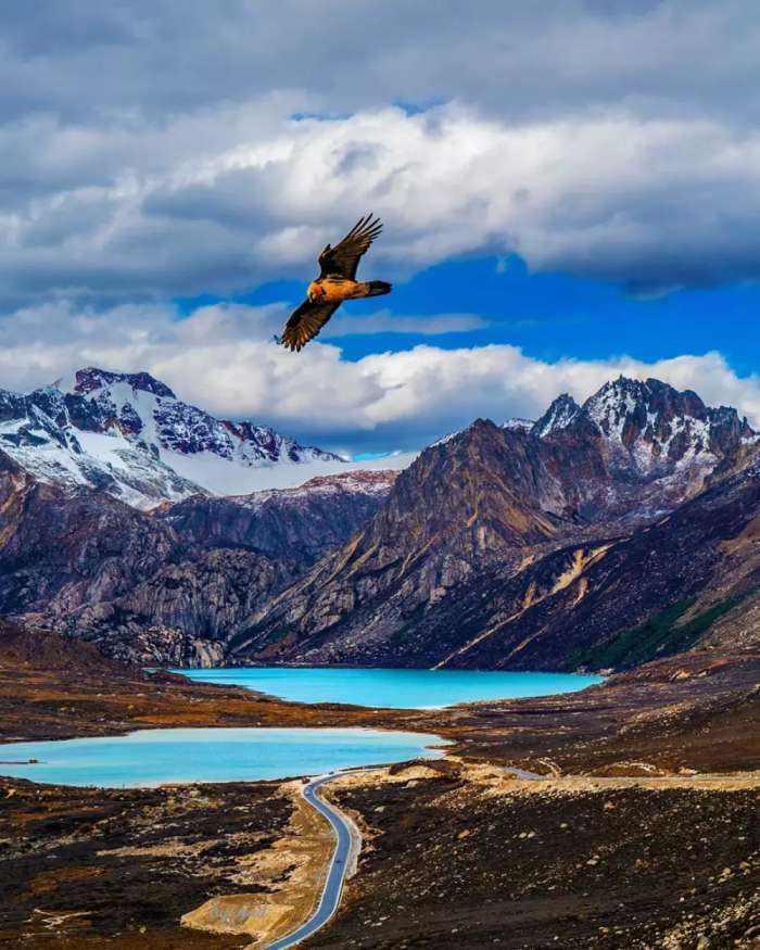 最美的风景在路上,通向世界屋脊川藏线上的十大绝色美景