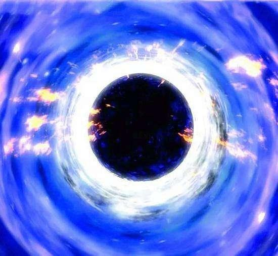 地球变成黑洞有多大图片