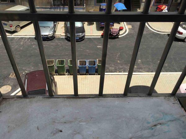后窗外的垃圾桶边发生的温暖一幕,让人懂得希望与金钱无关(图2)