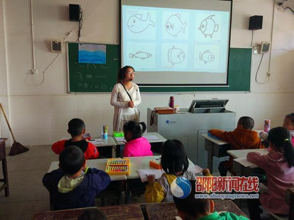 隆回县桃洪镇石门完全小学组织开展教师系列公开课