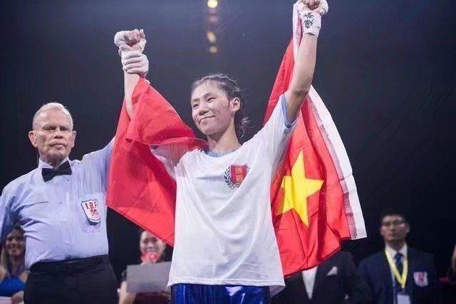 拳击女皇蔡宗菊三次完胜日本拳王,呼吁大众牢记历史振兴中华!