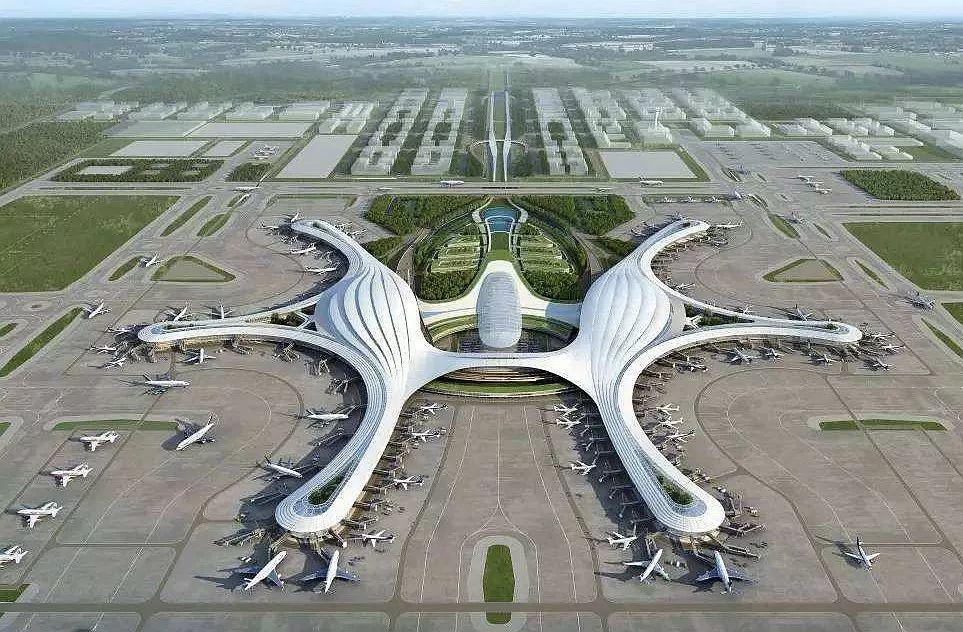 天府机场规划图高清