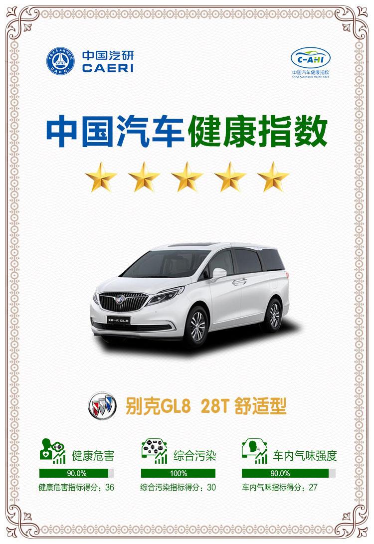 """别克GL8荣获""""中国汽车健康指数测评""""五星评价_新凤凰彩票官网"""