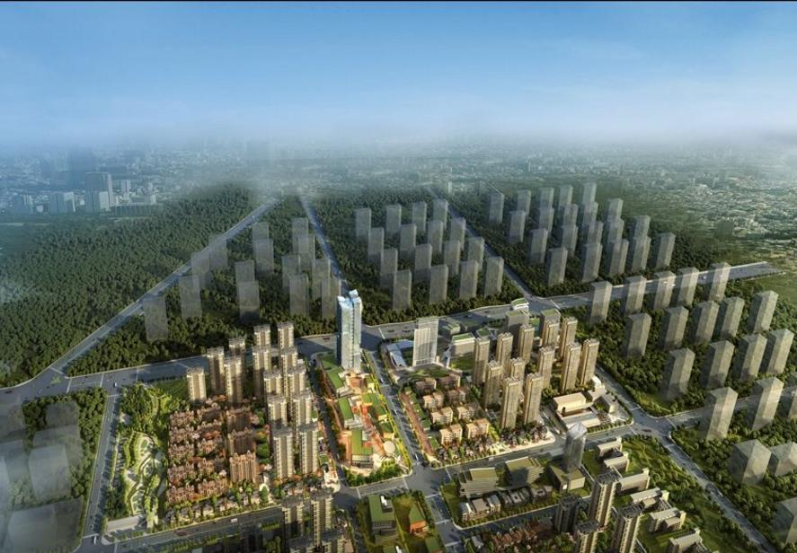 合肥云谷金融城规划图