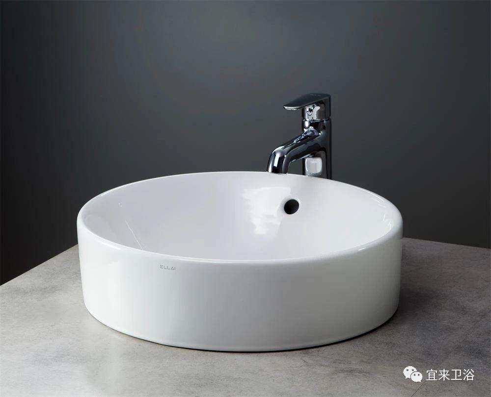 宜来卫浴-一体盆