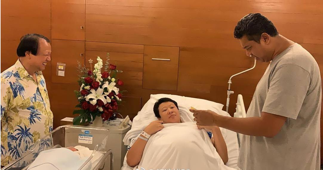 祝福!40岁冯坤与52岁泰国名帅生下6斤半胖小子 排协主席上门探望