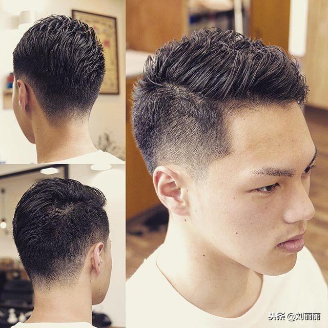 最适合20到50岁的男士发型15款,干净,利落,最有型图片