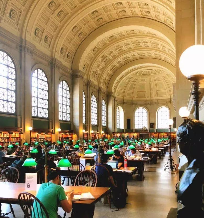(哈佛大学图书馆,此照片来源于2018年学员熊同学)图片