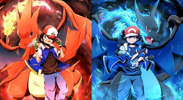 ��.�x_喷火龙和超梦是唯二有两种超级进化形态的宝可梦,喷火龙x(上图右)是
