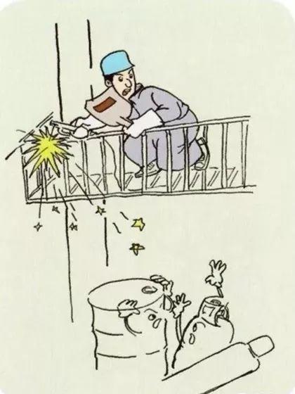 漫画| 电力安全生产50条典型违章案例