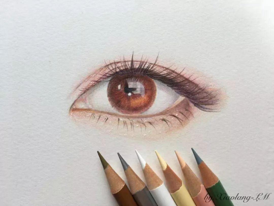 不会画眼睛 从素描到动漫风,多种风格素材,不怕你学不会