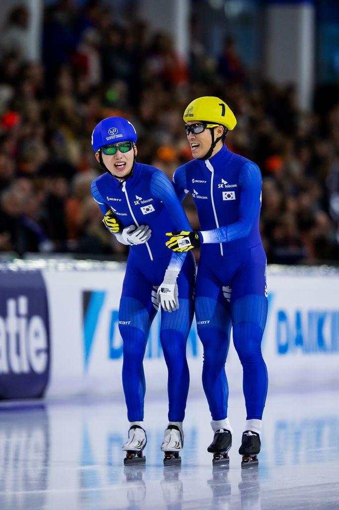 速滑世界杯荷兰站小平奈绪500米夺冠李丹冲刺赛第五
