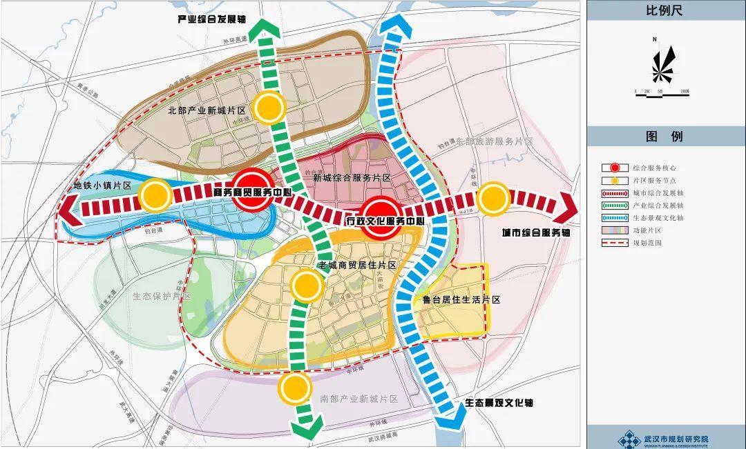 黄陂区规划图
