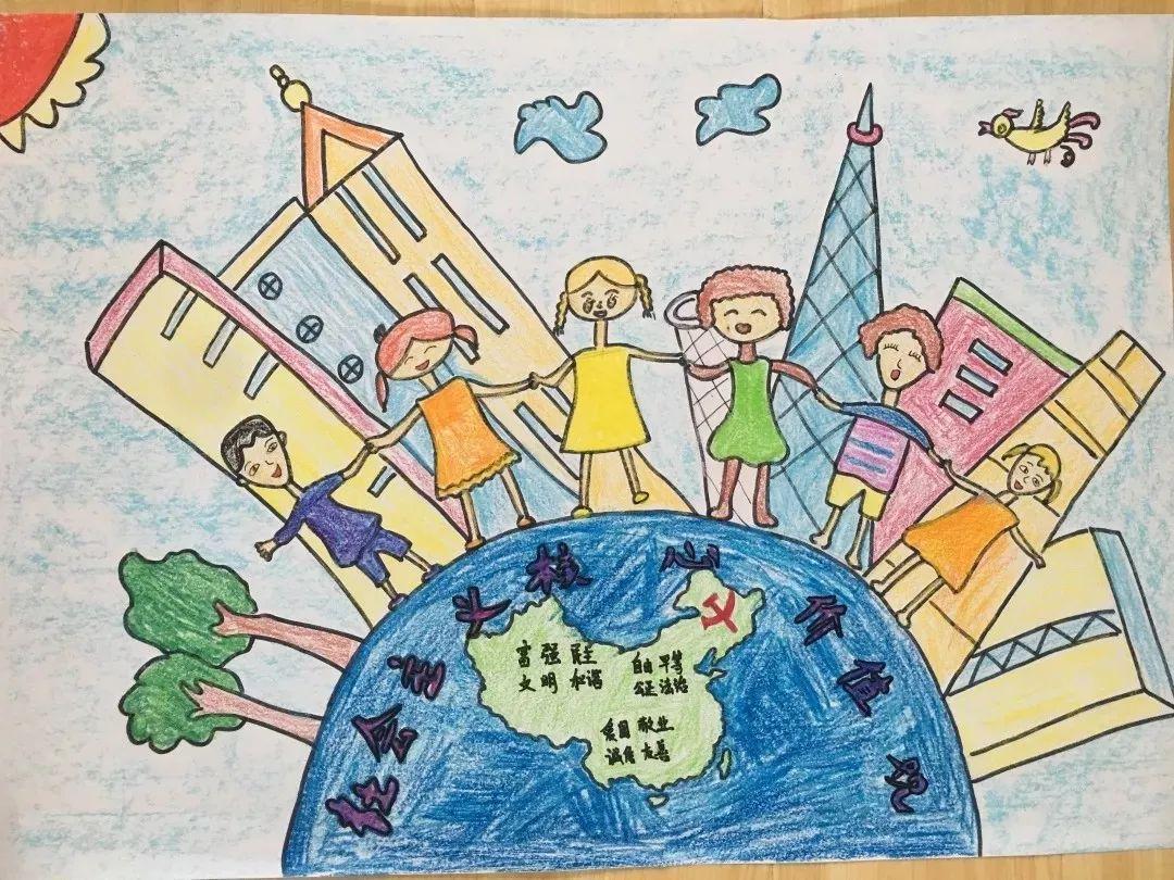 童心童语绘文明图片
