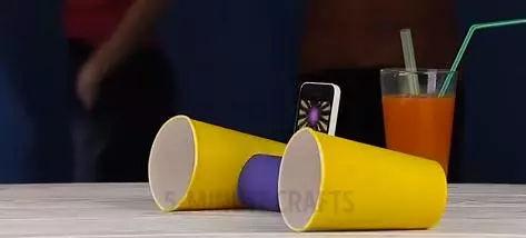 纸筒手工制作大喇叭