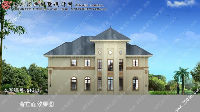 两层小别墅设计图首层216平方米农村二层别墅设计图纸