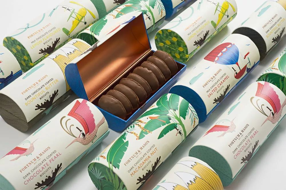 一組令人向往的餅干包裝設計作品鑒賞