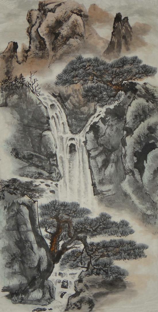 墨韵千秋――著名山水画家姜文涛作品欣赏