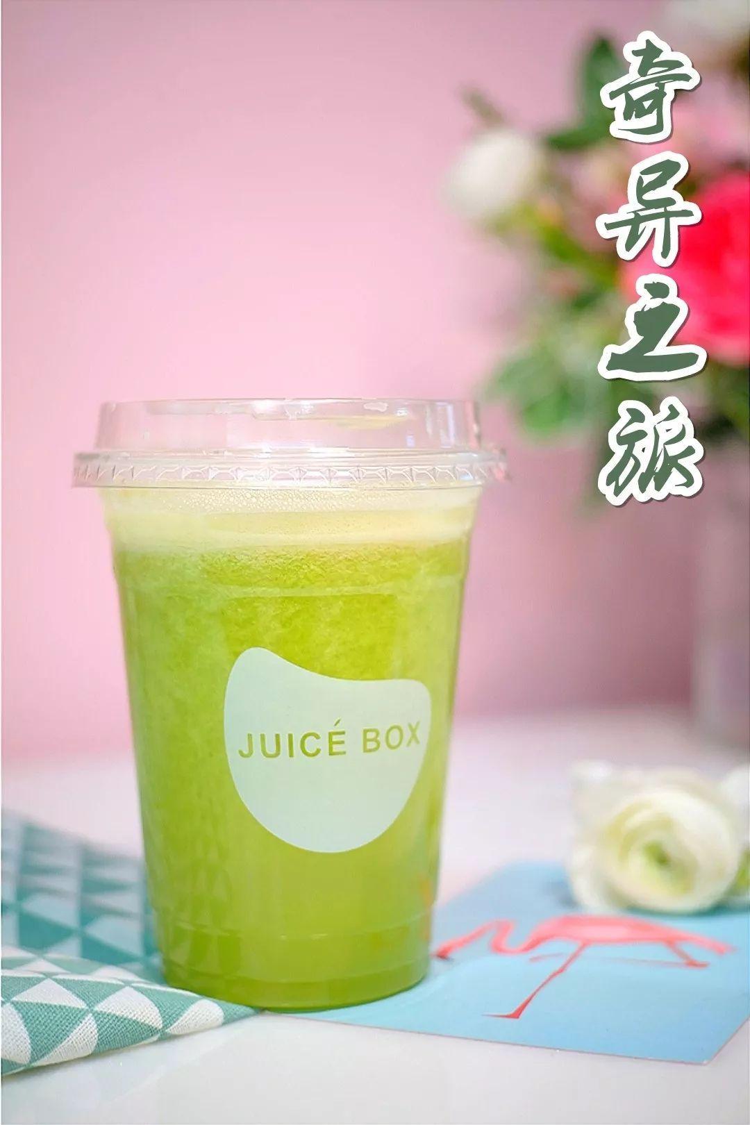 苹果奇异果汁_但是有了juice box就不一样了,一口气吃2个苹果,3个奇异果,都不是难