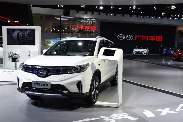 广汽丰田和广汽ix4在新能源汽车领域发起攻击并迈出关键一步
