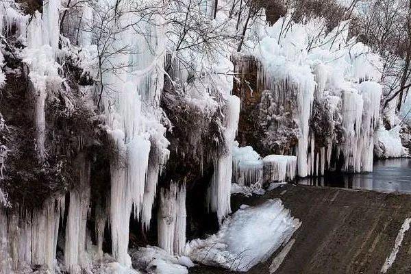 美景图片头像 微信&这个冬季不窝家,北京周边冰瀑美景