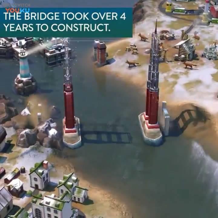 竟然有金门大桥!《奇观6》风云变幻新视频v奇观文明cad批量打印操作说明图片