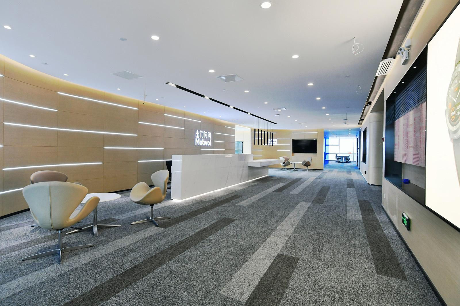 合肥办公室装修中灯光设计每个空间区域有什么不同?图片
