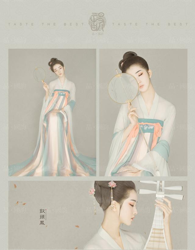 「品·国韵」古风艺术照 武汉古装写真(汉唐系列-钗头凤)
