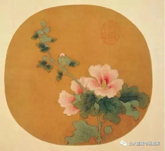 桂花手绘彩