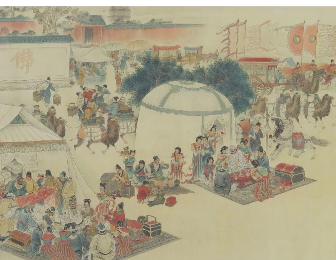 中国工笔画曾经是中国画的代表和国粹艺术;她是成熟于唐朝代表盛世