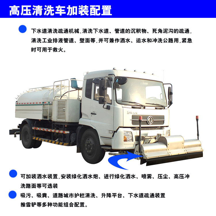 市政绿化环卫高压清洗车详情分析_搜狐汽车_搜狐网图片