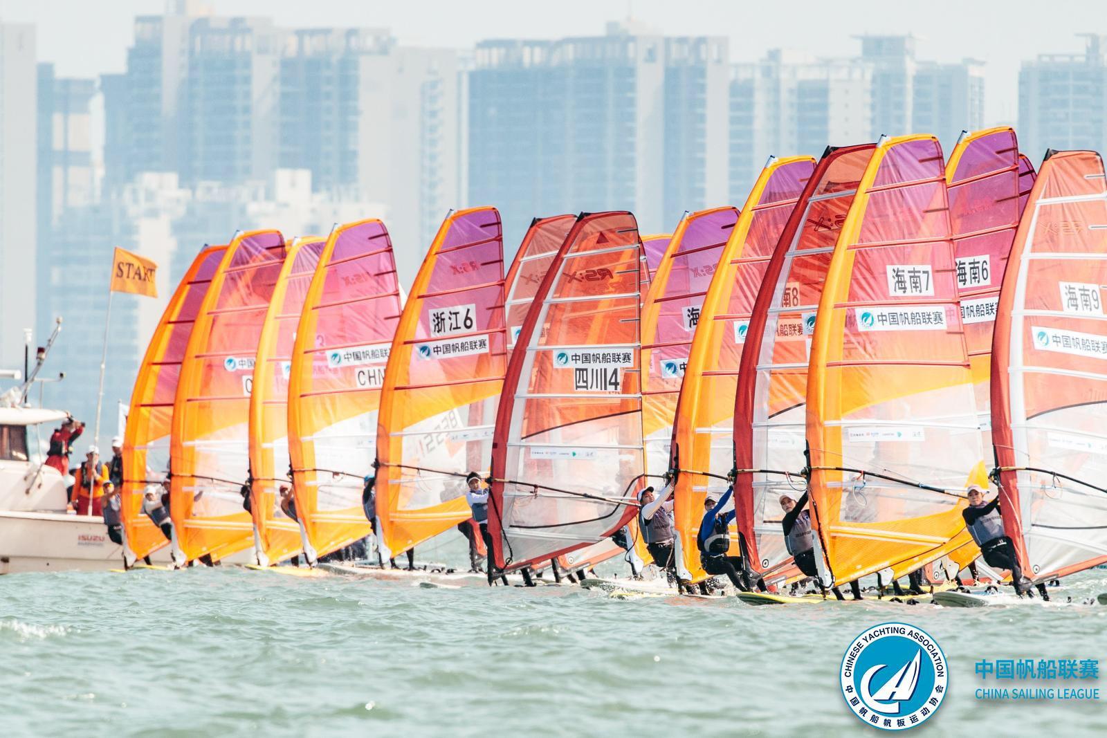 中国帆船联赛海口总决赛激烈开赛,冬训大练兵全面检验实力