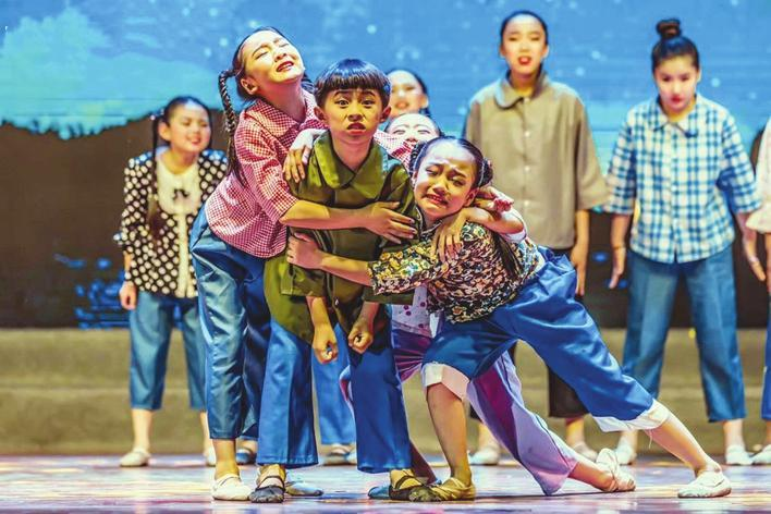 邯郸市复兴小学入围全国第六届中小学生艺术展演