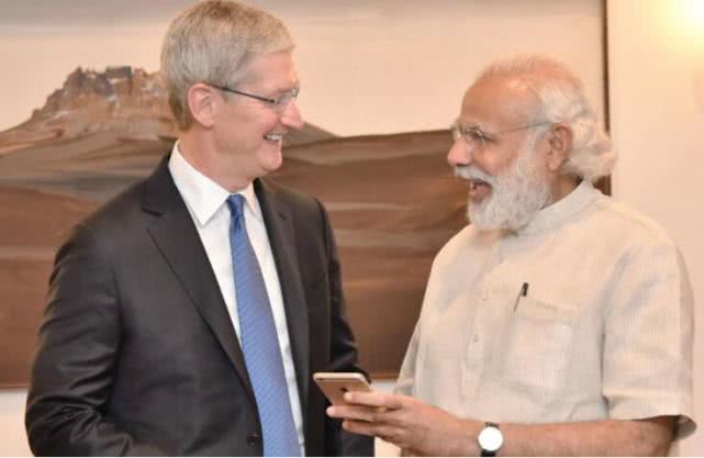 2018年苹果iPhone在印度销量同比下滑40%