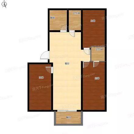 【特价房】桥西130平米三室,单价13308元/平!17...