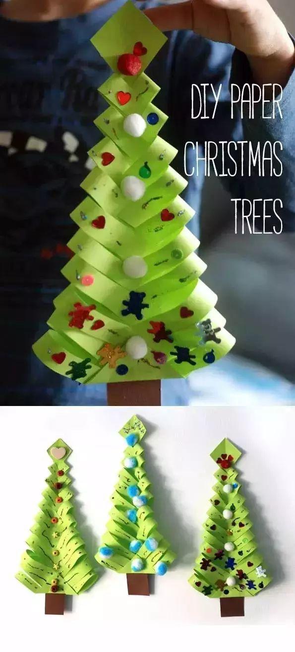 实用!幼儿园老师要的圣诞手工作品,来了 |手工时间