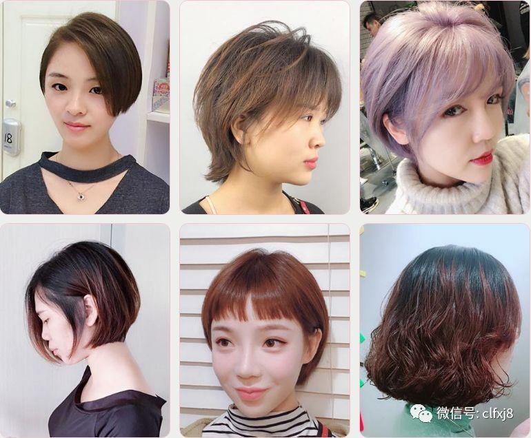 今年流行什么发型短发图片图片