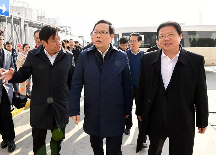 南通市委副书记,代市长徐惠民到高新区调研