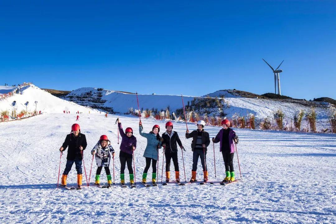 冬季贵州 我想带你去滑雪