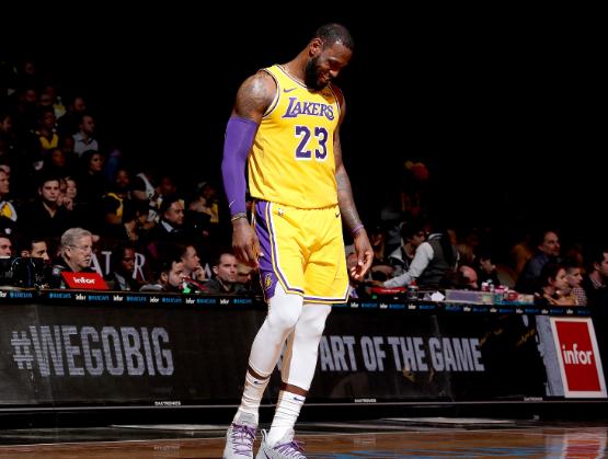NBA排名:湖人两连败18胜13负西部第四骑士8胜23负东部第13!