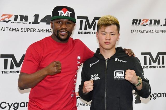 拳王梅威瑟要倒霉,日本搏击天才誓要ko他,不会遵守拳击规则
